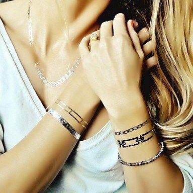 Tatuajes Temporales Metalizados
