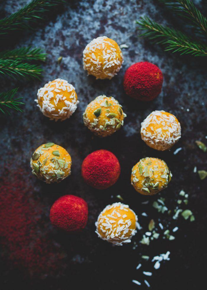 Saffron truffles / Saffranstryfflar - Evelinas Ekologiska