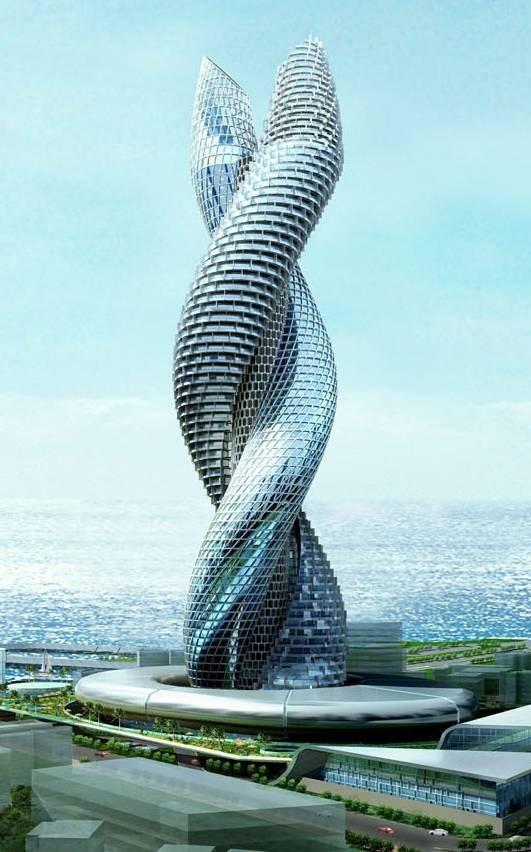 Cobra Tower Kuwait Concept Design Technology