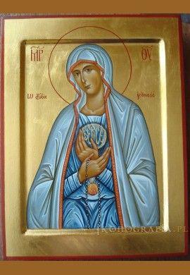 Matka Boska Fatimska ikona