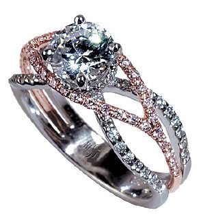 This is everything I would want! Seriously perfect!Bling, Gold Engagement Rings, Rosegold, Dreams, Beautiful, Rose Gold Engagement, Gold Rings, Jewelry, White Gold