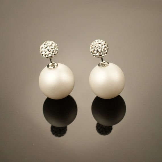 Best 25+ Double pearl earrings ideas on Pinterest