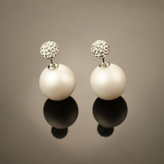Best 25+ Double pearl earrings ideas on Pinterest