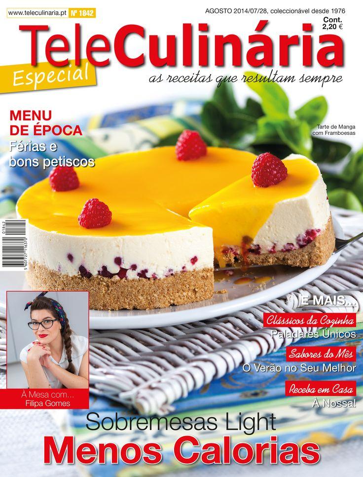 TeleCulinária 1842 - Especial Agosto 2014   Disponível em formato digital: www.magzter.com Visite-nos em www.teleculinaria.pt