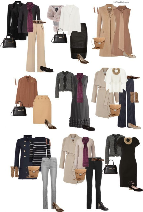 Fall 2016 tan trends capsule: 9 chic looks | 40plusstyle.com