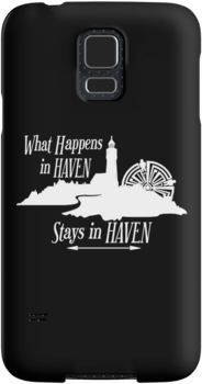 Haven Syfy Inspired Phone Cases/Skins |  What Happens In Haven Lighthouse White Logo | Snap Cases,Tough Cases, & Skins for Galaxy S3-S4-S5-S6-S6 Edge-S6 Edge Plus-S7-S7Edge | iPhone 4s/4 5c/5s/5 6/6Plus SE/5s/5 & iPhone Wallets **All designs available for all models.