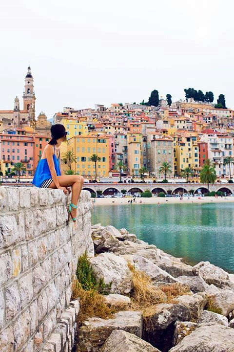 Menton, a small and colourful town just past Monte Carlo « Gary Pepper