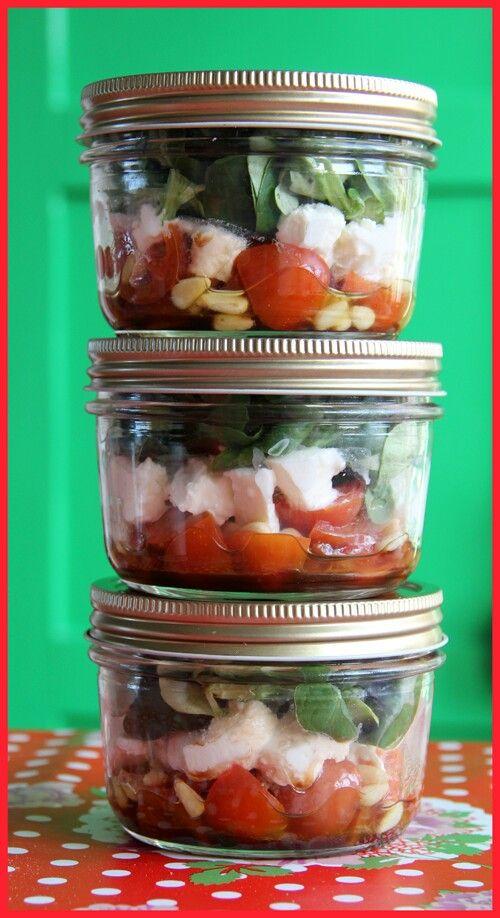 Fieve: salade in een potje