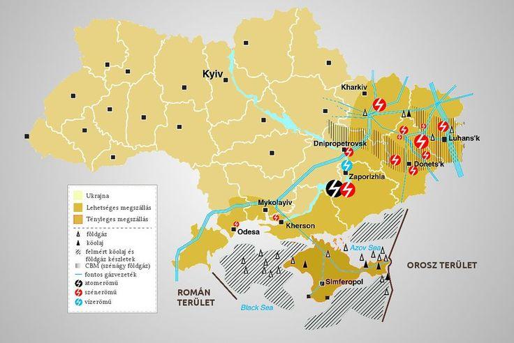 Kelet-Ukrajna energiahordozó lelőhelyei