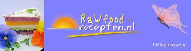 Nieuws RAWFOOD-RECEPTEN.NL Nederlandstalige plantaardige zoete rawfood-recepten, suikervrij, smoothies, informatie en nieuws over rauw-dieet