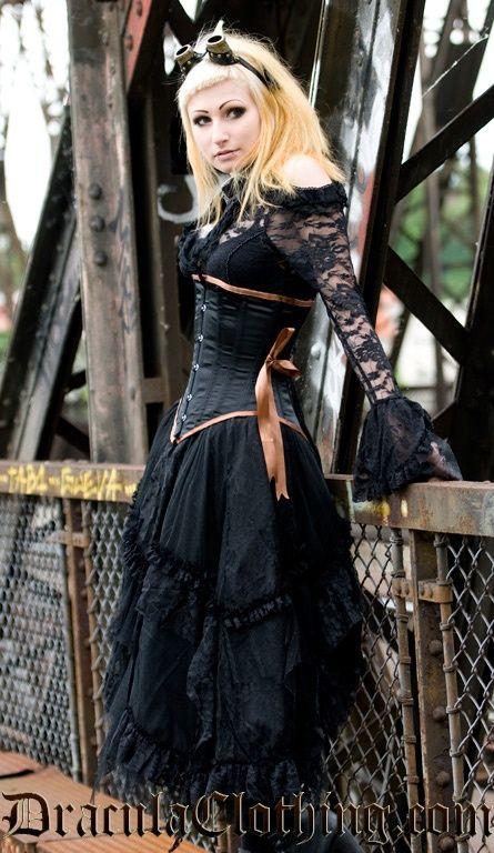Steampunk Woman  http://steampunk-girl.tumblr.com/
