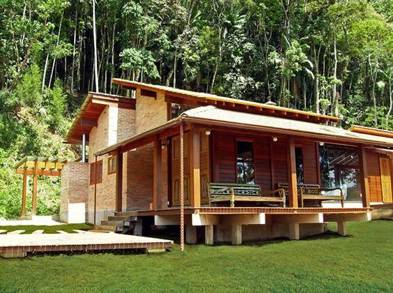 Projeto de casas de madeira – Projetos de Casas