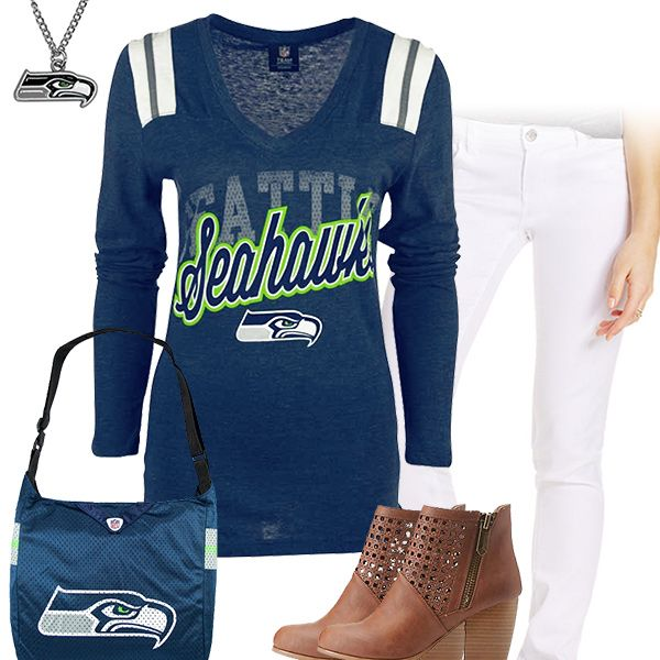 Seattle Seahawks Kickoff Outfit