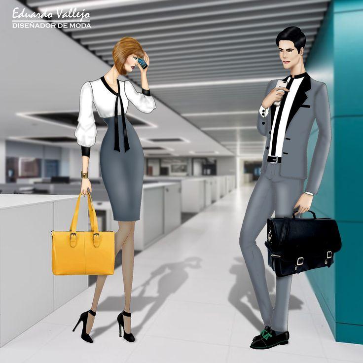 Design by #EduardoVallejo #yoamodibujarmoda #reto3 #uniforme