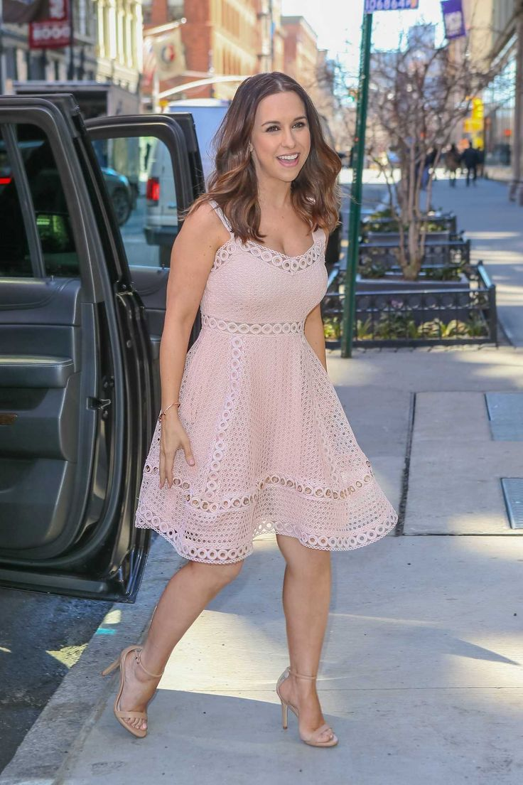 Lacey Chabert - At the AOL Build Speaker Series in New York on March 29