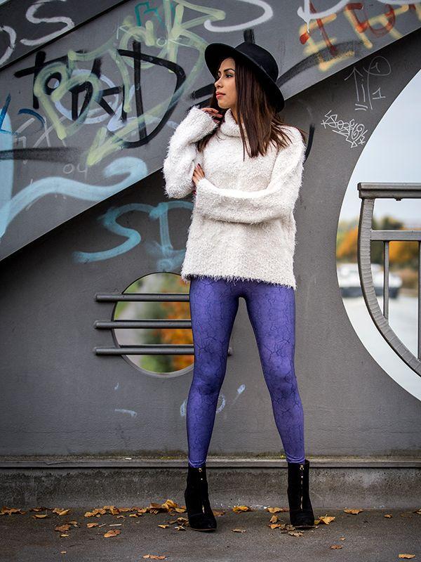 Purple Fairy Leggings