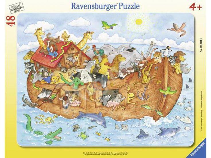 Noé bárkája 48 db-os puzzle (Ravensburger) | Pandatanoda.hu Játék webáruház