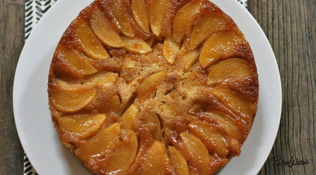 Apple Upside-Down Cake. Get the recipe via @PureWow