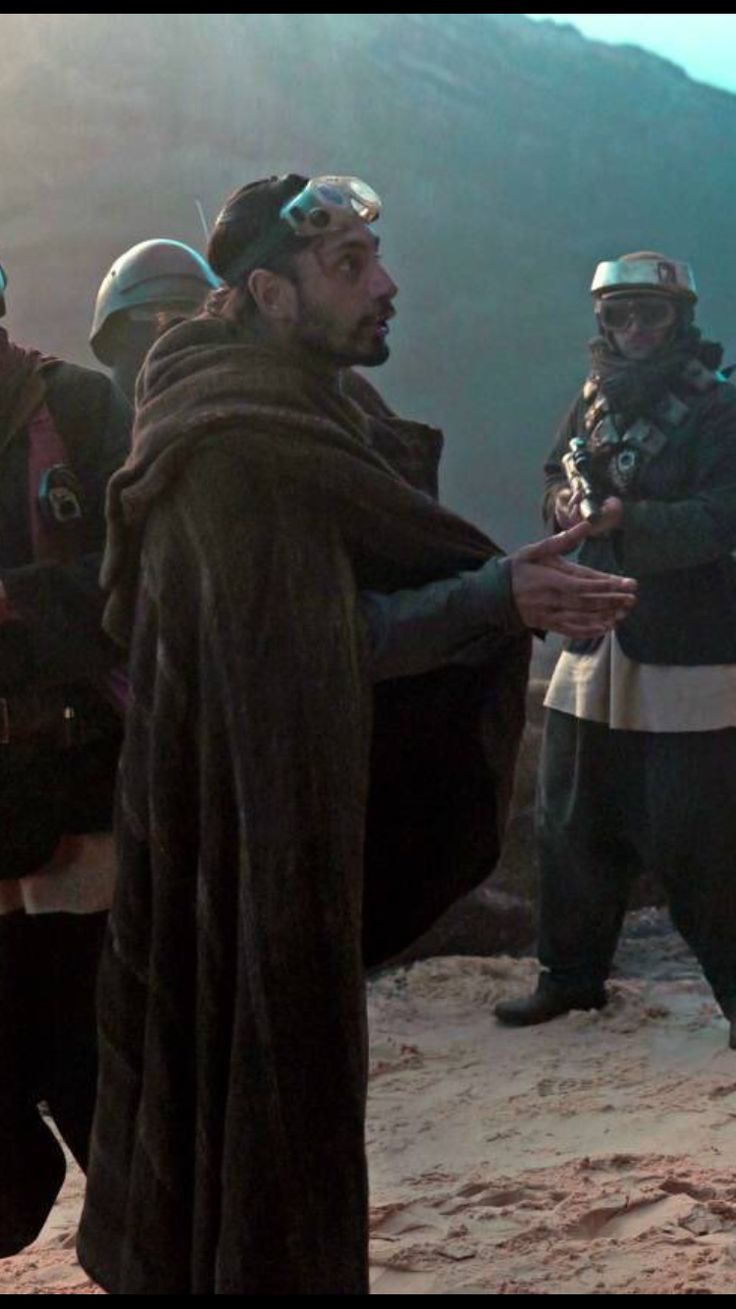Riz Ahmed as #BodhiRook in #RogueOne .... God, please marry me