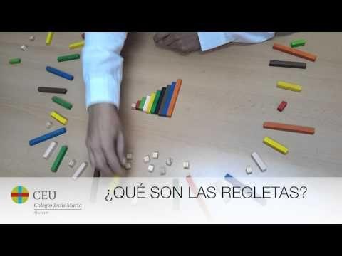 Operaciones con Regletas · Parte 1 · ¿Qué son las Regletas? - YouTube