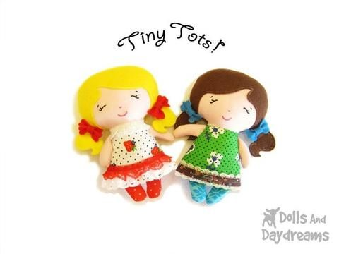 Tiny Tot Sewing Pattern - Dolls And Daydreams