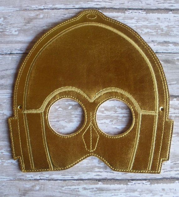 C3PO+mask+by+OFNAH+on+Etsy,+$6.00