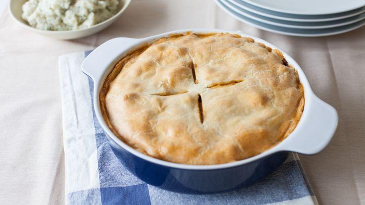 Savoury Chicken Pot Pie #Epicure