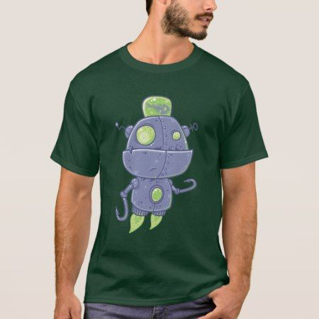 Fishing Robot T-Shirt - tap to personalize and get yours