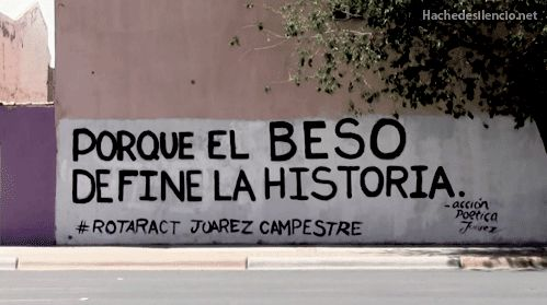 Accion poetica cd. Juarez Mexico