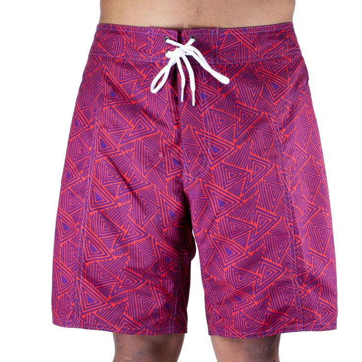 Trunks Men's Salty Board Shorts – Lotus Triangles