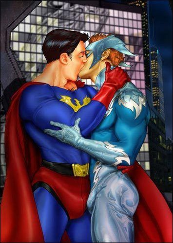 Gay Superheroes Sex 103