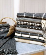 Foxford Throws & Rugs, These from their Classic Collection.