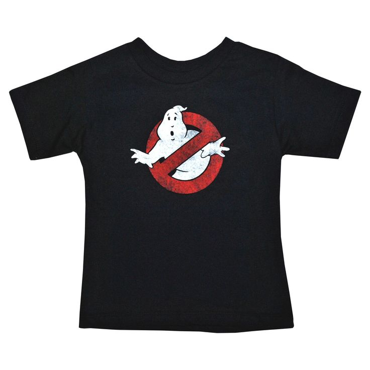 Toddler Boys' Ghostbusters T-Shirt - Black 18 M