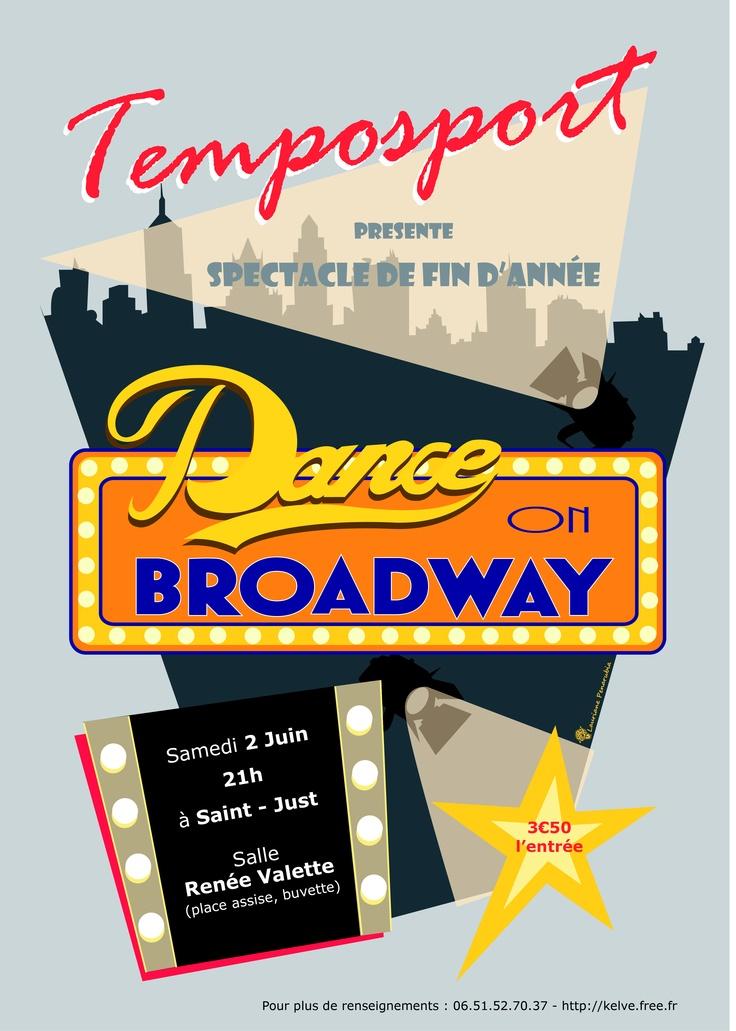 Affiche gala de danse - 2012