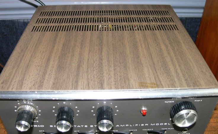 Vintage 1973 Trio (kenwood) audio KA-2000 Integrated Amplifier with phono stage. in Sound & Vision, Home Audio & HiFi Separates, Amplifiers & Pre-Amps   eBay