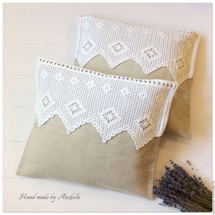 Купить Декоративные наволочки на подушки - бежевый, подушка декоративная, наволочка на подушку, декор интерьера, подарок