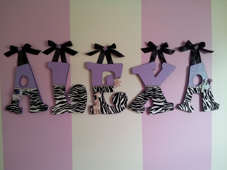 396 Best Letter Craft Images On Pinterest | Decorated Letters