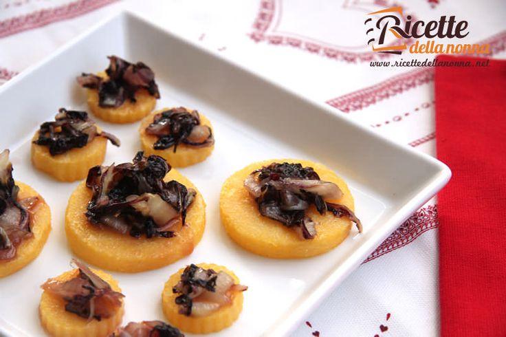 ricetta polenta radicchio