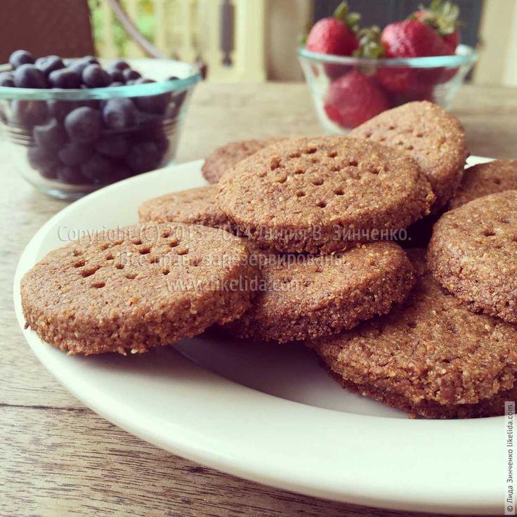 Имбирное печенье с мелассой (веганское)