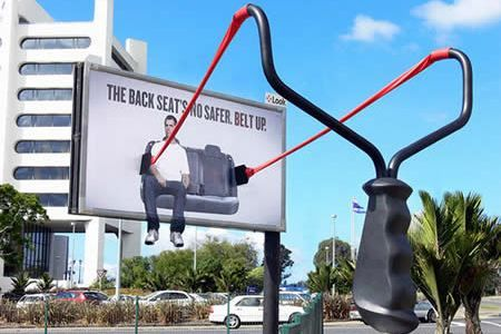 There's a special level of awesomeness reserved for clever billboards like these following fifteen. (funny billboards, cool billboard advertising)