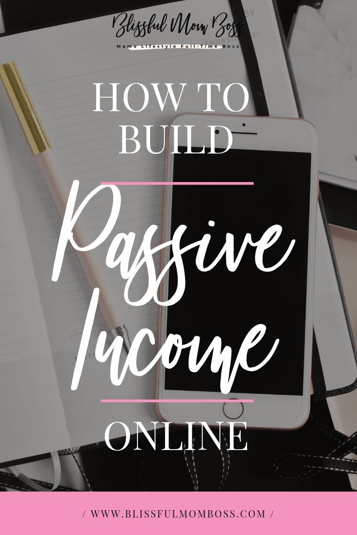 How to Build Passive Income Online – #Build #Incom…