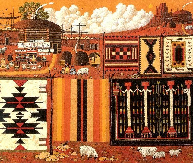 Indian Rugs Company Calendar Page