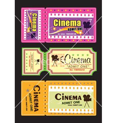 Cinema tickets vector 1689559 - by alkkdsg on VectorStock®