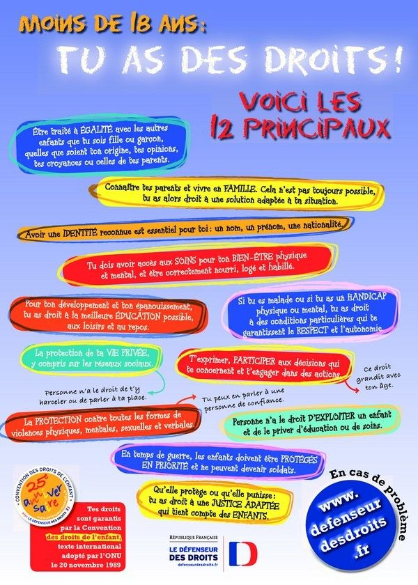 Gd dossier sur les droits des enfants--- Chansons, docs, pdf, ......