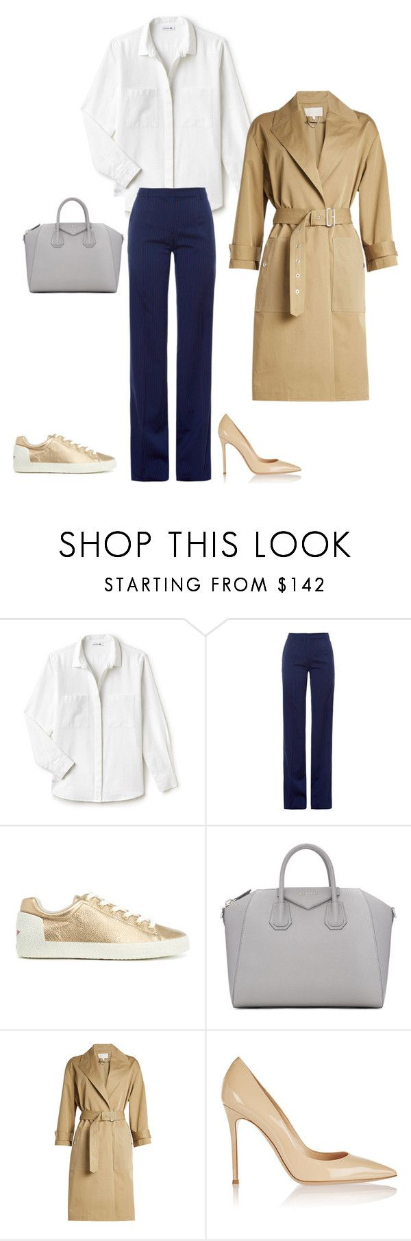 12 by asvetik on Polyvore featuring мода, Lacoste, Vanessa Bruno, Altuzarra, Gianvito Rossi and Givenchy