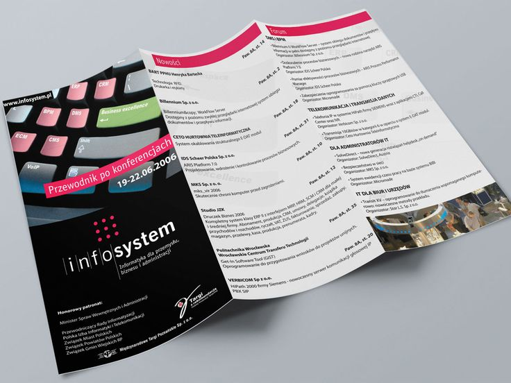 Kreacja key visual Infosystem. #reklama #marketing #copywriting