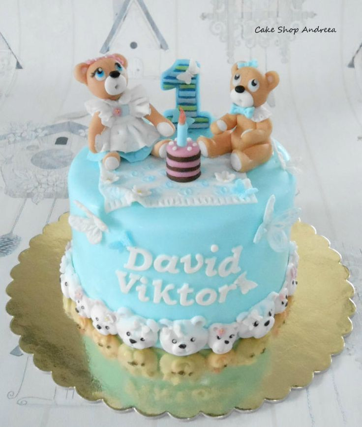 Teddy bears picnic - Cake by lizzy puscasu