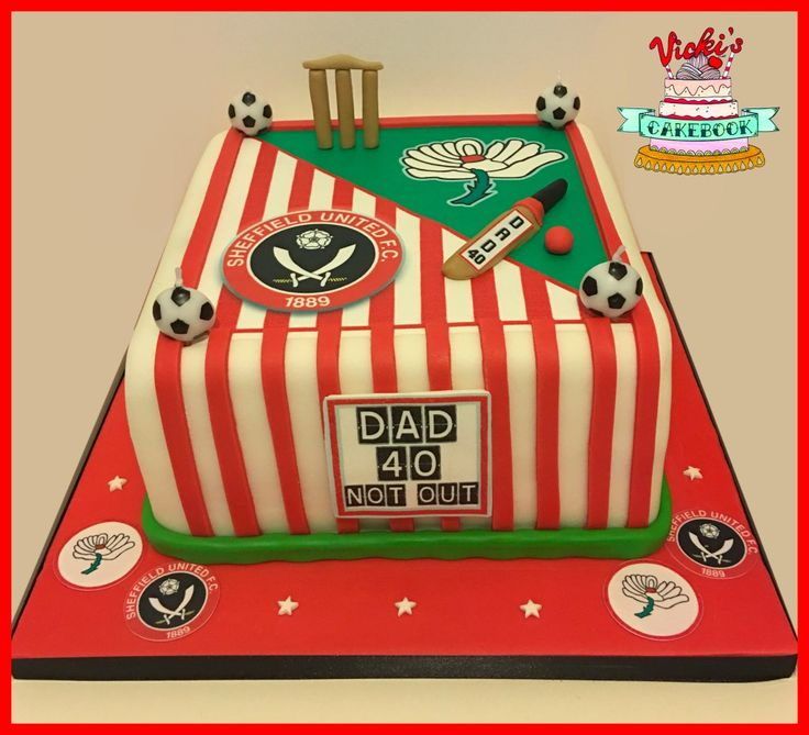 Square Cricket and Football Themed Dad Cake cricket-football-dad-cake