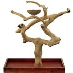 Java Tabletop Tree - Medium - Natural Hardwood Parrot Stand