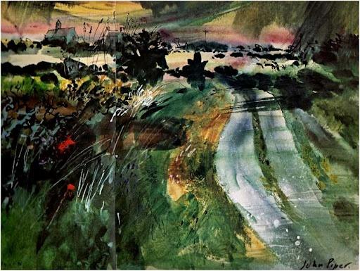 John Piper Pembrokeshire 1981